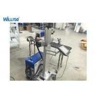 Quality Portable Mini Optical 20w Fiber Laser Marking Machine With Water Cooling for sale