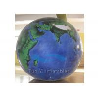 Buy Durable PVC Earth Globe Balloons Inflatable Earth Map Ball with LED Light at wholesale prices
