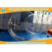 Quality Summer Inflatable Water Walking Ball Clear Water Roller Ball Customized Size for sale