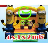 Buy 2016 hot sell minion inflatable bounce house with 24months warranty GT-BC-1834 at wholesale prices