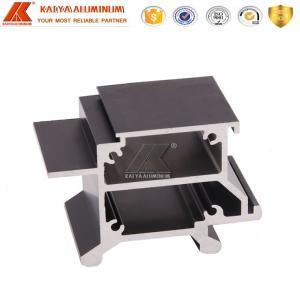 Quality Standard Large Aluminum Profiles / Anodize Aluminum Extrusion Bars for sale