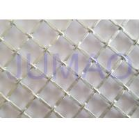 China 1/2 Inch Opening Decorative Wire Screen , Galvanized Steel Cabinet Mesh Grilles on sale