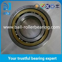 Quality QJ207M Four Point Angular Contact Ball Bearing 17mm Height With Brass Cage for sale