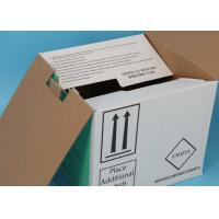 Quality Laboratory Medical Specimen Shipping Boxes / Special Sample Drop Box For Transport for sale