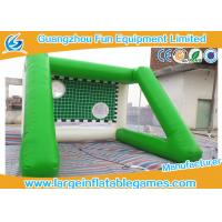 Quality Outside Inflatable Field Goal Post For Soccer Ball 4 * 4 *3 M Excellent Durability for sale