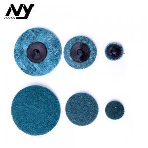 Quality Fine Quick Change Sanding Discs , 3m 2 Inch Roloc Sanding Discs Blue Color for sale
