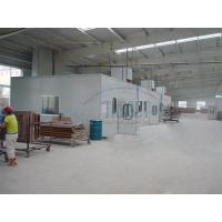 China Full Downdraft Furniture Spray Booth on sale