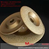 Quality Vacuum Brazed Diamond Grinding Disc for marble and granite  Alisa@moresuperhard.com for sale