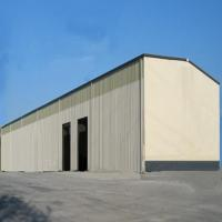 China ISO Standard Workshop Steel Structure Sliding Window Sound Insulated for sale
