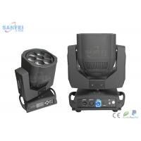 Quality DMX512 7x12w RGBW 4in1 Bee Eyes LED Beam Moving Head Light / LED Stage Lights for sale