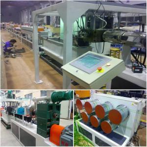 PP PET Material Plastic Strap Making Machine 80 - 350kg/h Large Capacity