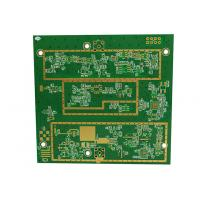 Buy cheap Durable Custom PCB Boards 6 Layer Rogers 4350B FR4 PCB TG170 Material Copper from wholesalers