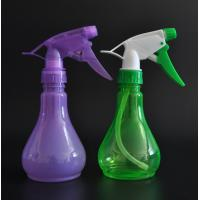 Quality New design 250ml clear bulb shape spray bottle with A shape trigger for Christmas for sale