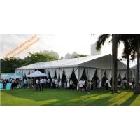 Quality Temporary Rental Guangzhou Wedding Tent for 500 People Aluminum Fireproof  Marquees for sale