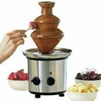 Quality Stainless Steel Chocolate Fondue Fountain XW-001A for sale