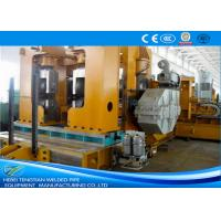 China Hot Rolled Straight Seam Welded Pipe Mill For ERW Black Round Tube Building Materials on sale