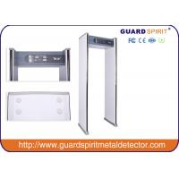 700 Mm Width Channel Walk Through X Ray Machine , Pass Through Metal Detector Safety