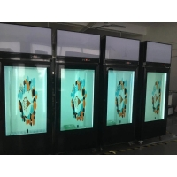 Quality 1920*1080 400cd/m2 Transparent LCD Panel 178º For Showcase for sale
