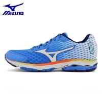 MIZUNO Men WAVE RIDER 18 Mesh Breathable Cushioning Light Weight Running Shoes Sneakers for sale