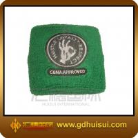 Quality promotional green color kids sweatbands for sale