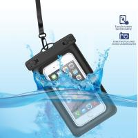 Quality Eco-Friendly  Floating Waterproof Phone Case TPU Waterproof Dry Pouch with Air-Filled Frame Function for sale