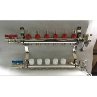 Quality 6 loop radiant Floor Heating Manifold for Floor Heating Systems & Parts for sale