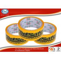 Quality Custom English Logo Printed Colored Adhesive Tape For Sealing and Packing for sale