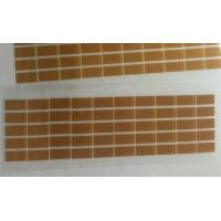 Brown Die Cut Adhesive Tape Single Sided Polyimide / PET Material for sale