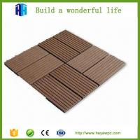 Quality HEYA plastic wood composite deck tile wpc board manufacturers for sale