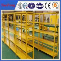 Buy HOT! China factory oversea wholesales powder coated aluminum profiles for shelves at wholesale prices