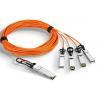 QSFP28-4SFP28 AOC 100G Active Optical Cable fiber cable manufacture for sale
