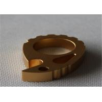 Quality Al6063 T5/ AL6061 T6 Anodised Surface Gold plating Extruded Aluminum Framing Bottle Opener for sale