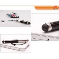 Buy Retractable mini Metal / Plastic Capacitive Screen Stylus Pen, tablet pc stylus pens at wholesale prices