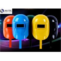 Buy cheap Face Protection Electrician Hard Hat Arc Welding Customized Large Window Size from wholesalers