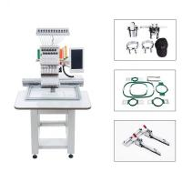 China 15 Colors Single Head Computerised Embroidery Machine For Industrial Use on sale