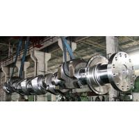 Quality OEM Crankshaft Forgings Forged Alloy Steel Industrial Shaft 42CrMo, 34CrNiMo6, 25Mn for sale