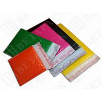 Quality Colored Fully Laminated Plastic Poly Bubble Envelope Bags Yellow / Green for sale