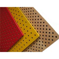 Quality Perforated Wood Acoustic Panels Gypsum Board Mineral Fiber Acoustical Ceiling Panel for sale