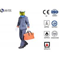 Quality 8 Cal PPE Safety Wear Uniforms ASTM F2621 Anti Fire Category 1 Oil Resistant for sale