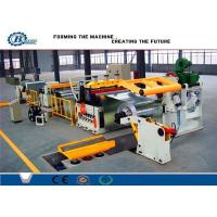 Quality Custom Cold Rolled Steel Coil Galvanized Metal Slitting Line With 10-16m/min Speed for sale