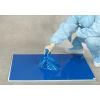 Quality 30 layers blue floor protection PE laboratory sticky mat for sale