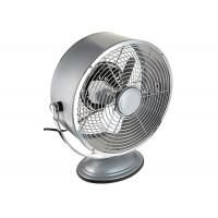 Quality Portable Vintage Electric Table Fan Personal 2 Speed Setting For Office / Kitchen for sale