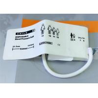 Quality Animal TPU Material Non Invasive Blood Pressure Cuff , Neonate3 Disposable NIBP CUFF for sale