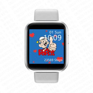 """Quality 1.54"""" HD IPS Large Screen Y68plus Blood Pressure Smartwatch for sale"""
