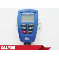 Quality Coating Thickness Meter CEM DT-156 Paint Gauge Auto F/NF Probe 1250 Micrometer V-groove for sale