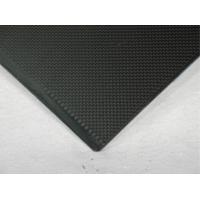 Black High Performance 2.5mm Carbon Fiber Sheeting Matte Surface