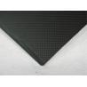Black High Performance 2.5mm Carbon Fiber Sheeting Matte Surface