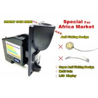China Vending Machine Coin Acceptor , Cpu Comparable Coin Selector Standard Size on sale
