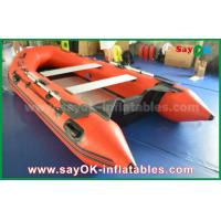 Quality Durable 2 - 4 Person PVC Inflatable Boats For Water Games SGS UL for sale