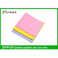 Quality Needle - Punched Non Woven Cleaning Cloths Disposable Viscose / Polyester Material for sale
